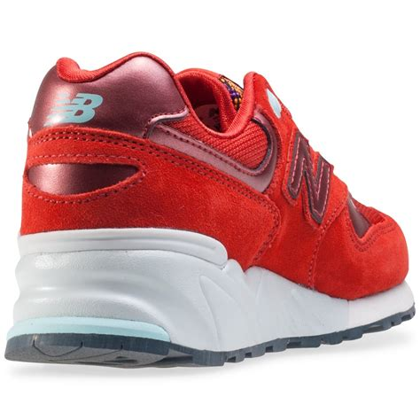 New Balance Wl999 Womens Trainers In Red