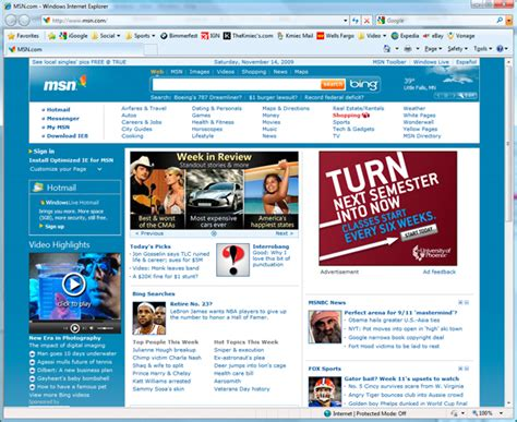 Msn Home Page : Msn Home Gallery
