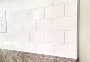 installing subway tile backsplash in kitchen how to install a kitchen backsplash how to nest for less