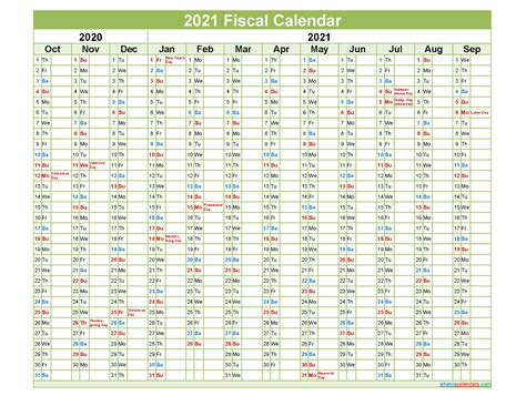 fiscal year  quarters template nofiscaly