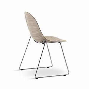 Designer Stühle Klassiker : schlitten stuhl mit hoher design in der metall und sperrholz idfdesign ~ Markanthonyermac.com Haus und Dekorationen