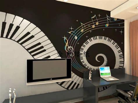 design embossed kids wallpaper black  white tv
