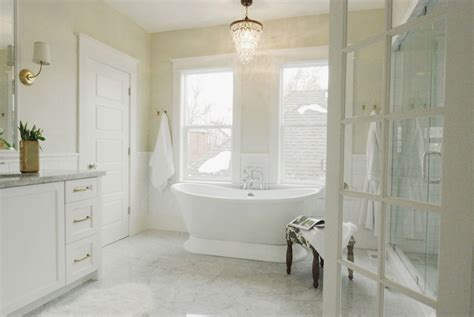 small tiled bathrooms ideas overstock chandelier transitional bathroom