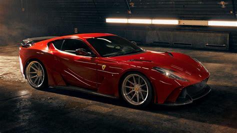 Запчасти на ferrari 812 gts. Novitec N-Largo widebody Ferrari 812 Superfast unveiled ...