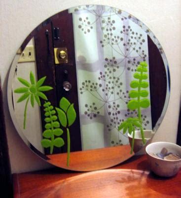 Stencil Per Bagno Stencil Su Specchio