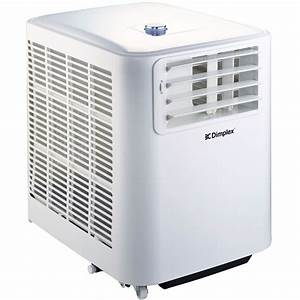 Dimplex Mini Portable 2 6kw Air Conditioner Coverage Up To