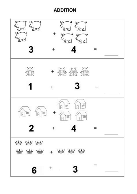 kindergarten math worksheets pdf addition learning
