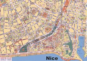 Bibliotheque De Nice : carte de nice cartes et plans de nice pr fecture des ~ Premium-room.com Idées de Décoration