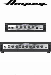 Ampeg Musical Instrument Amplifier Pf