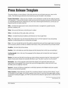 Press release brief template 28 images a guide to for Press release brief template