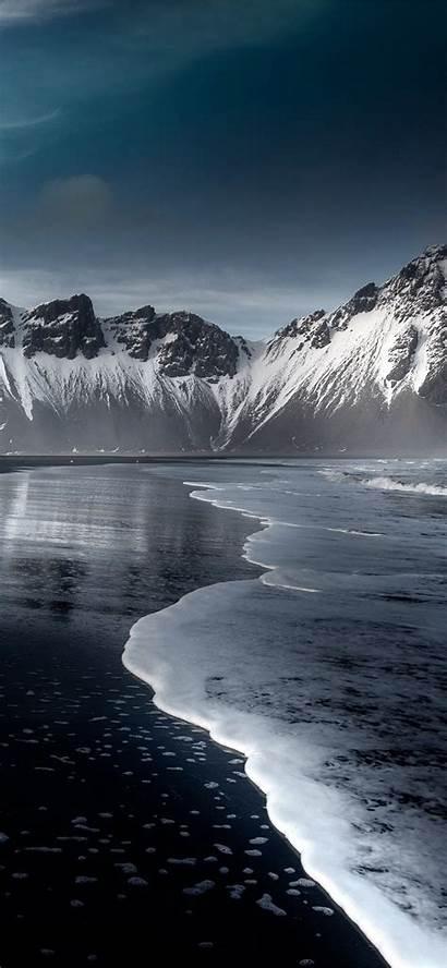 Iphone 4k Snow Wallpapers Hofn Austurland Backgrounds