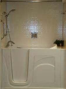Walk-In Tub Shower Combination