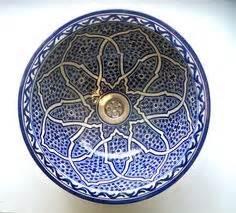 Bemalte Keramik Waschbecken : hand bemalte keramik blau wei orientalischen porzellan waschbecken sch ssel f r hotel bad ~ Markanthonyermac.com Haus und Dekorationen
