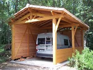 Abri Camping Car Bois : abri camping car abribois31 constructions bois ~ Dailycaller-alerts.com Idées de Décoration