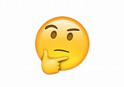 Image result for emoji for thinking