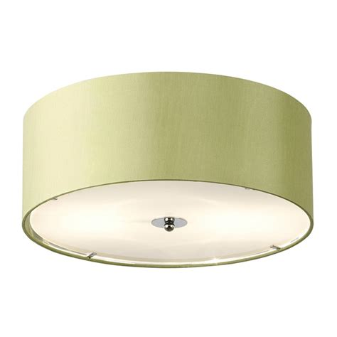 endon lighting franco franco 40gr green semi flush ceiling