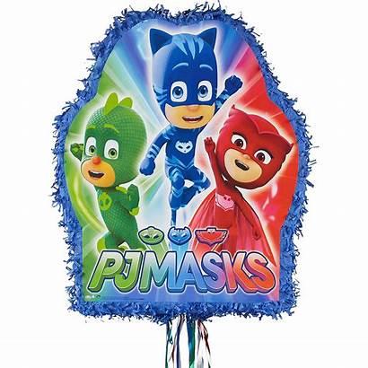 Pj Masks Pinata String Pull Pinatas Party