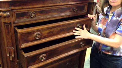 antique furniture renaissance revival drawer chest