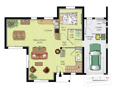 chambre pour deux enfants maison contemporaine 12 dé du plan de maison