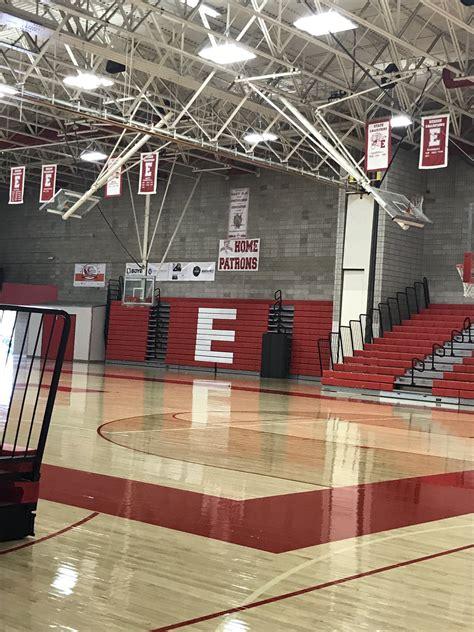 east high school suffers    million  flood damages