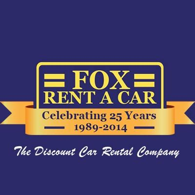 Fox Rent A Car Sees Strong Growth In Key Markets Wtm