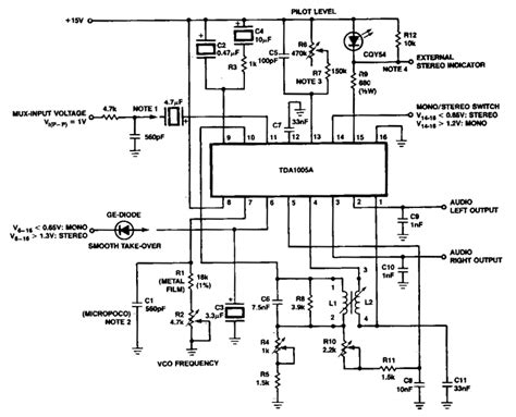 Fdm Stereo Decoder Circuit Diagram World