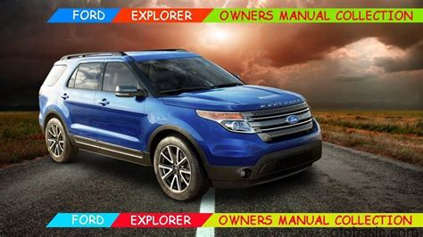ford explorer owners manual collection otobasic