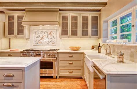 mediterranean kitchen with white cabinets mediterranean kitchen design fabulous kitchens with an