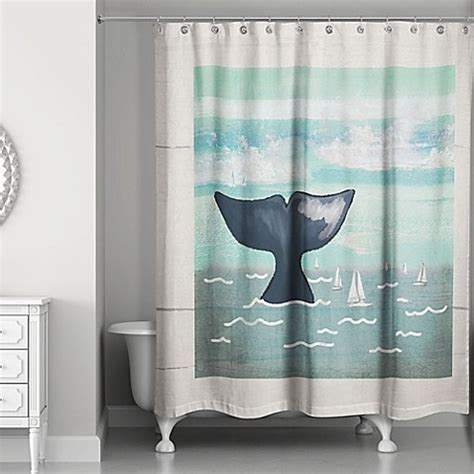 whale shower curtain designs direct whale shower curtain in blue beige