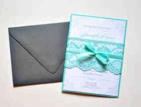 customizable wedding invitations teal lace wedding invitations custom lace wedding invitation teal wedding invitation card