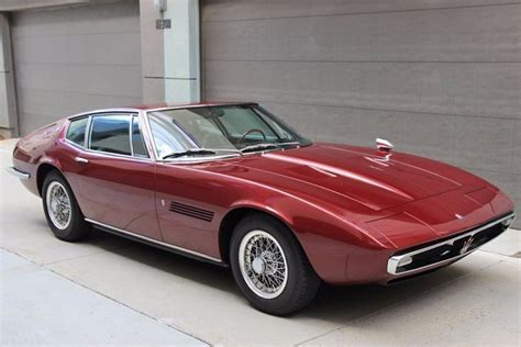 1968 Maserati Ghibli Stock # 21800 For Sale Near Astoria