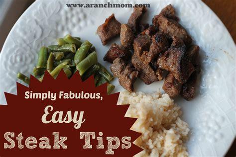 steak tips easy fabulous recipe whatever had