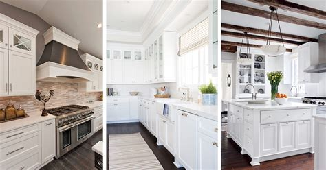 Kitchens Ideas With White Cabinets by 46 Best White Kitchen Cabinet Ideas For 2018