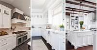 white cabinet kitchen ideas 46 Best White Kitchen Cabinet Ideas for 2019