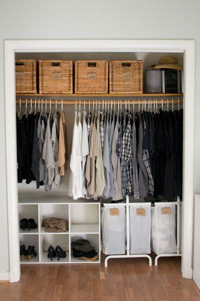 25 best ideas about small closet storage on