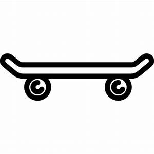 Skateboard Side View ⋆ Free Vectors, Logos, Icons and ...
