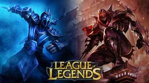 Shen v Zed Wallpaper and Background Image | 1366x768 | ID ...