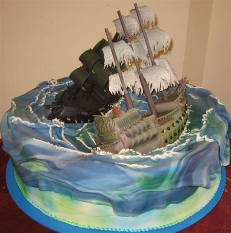 pirates   caribbean cakes pirates pinterest
