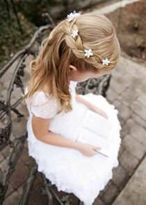 coiffure mariage pour fille coiffure fille 90 idées pour votre princesse