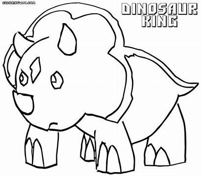 Coloring Dinosaur King Paris Cartoon Drawing Popular