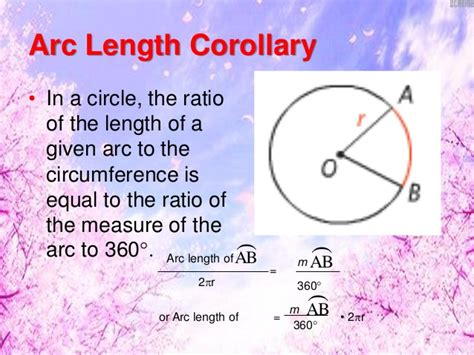 Arc Length, Area Of A Sector And Segments Of A Circle