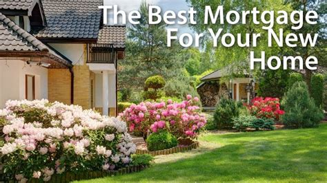 Picking The Right Mortgage Loan