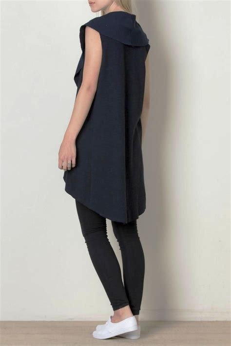 Draped Vest - thml clothing draped vest from by ruebird