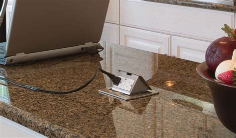 Kitchen Countertop Pop Up Outlets   Lew Electric Fittings