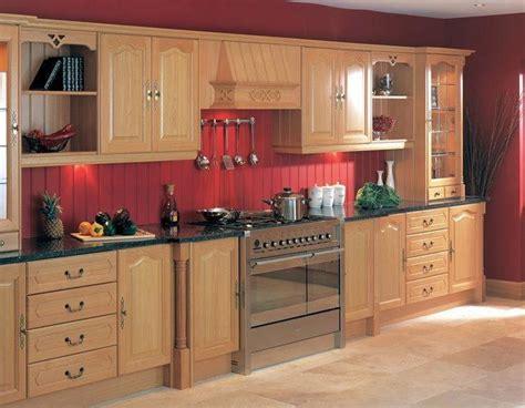 Barn Red Kitchen Walls Kitchen