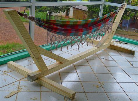Hammock Stand Diy by Hammock Stand Indoor Outdoor Woodworking Wood