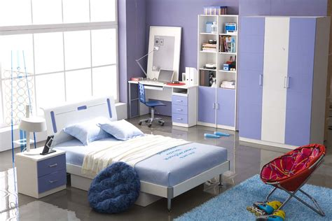 Blue Bedrooms For Kids Wonderful