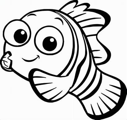 Nemo Finding Colouring Draw Pages