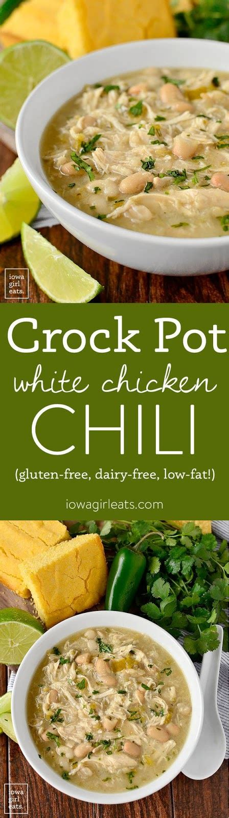 The fattier the meat is, the more cholesterol it contains. Crock Pot White Chicken Chili - Cucina de Yung