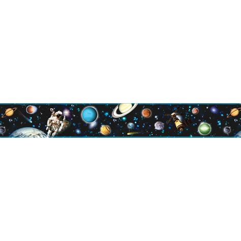 443B67150 Black Space Border - Buzz Aldrin - Brewster